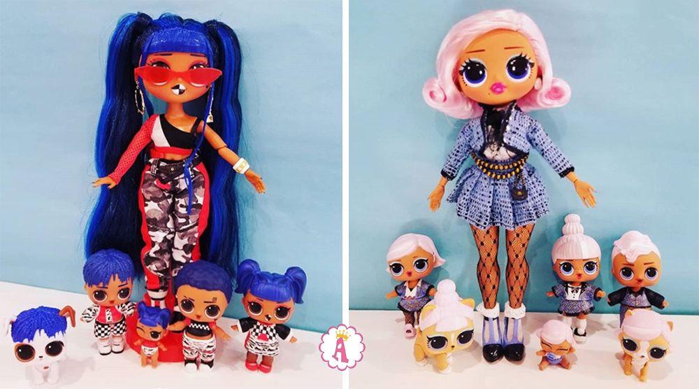 Эксклюзивные куклы Лол Сюрприз O.M.G. из большого набора L.O.L. Amazing Surprise