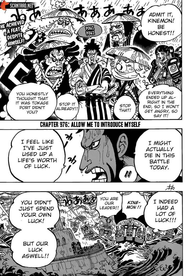One Piece Manga Chapter 976 - Image 003