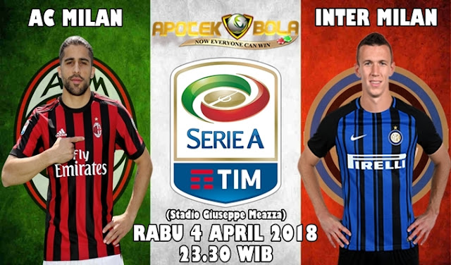 Prediksi AC Milan vs Inter Milan 4 April 2018