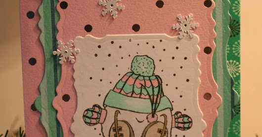 Countdown to Christmas with Not Just Scraps ~ Card 10