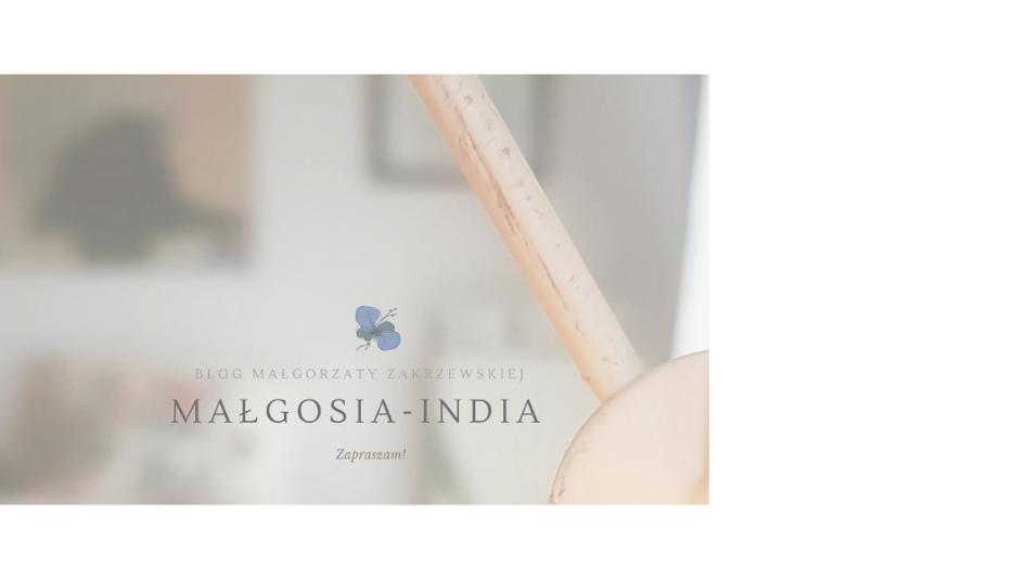 Malgosia-India