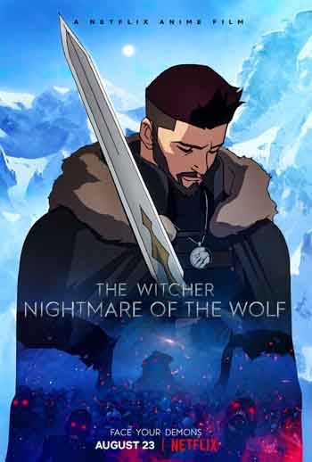 The Witcher: Nightmare of the Wolf 2021 300MB BRRip Dual Audio