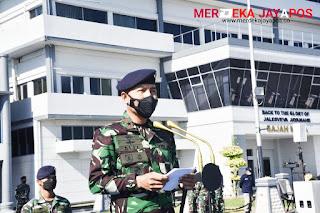 Penghormatan Prajurid KRI Nanggala- 402 On Eternal Patrol 838 Meter
