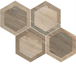 think outside the plank wood look hexagons