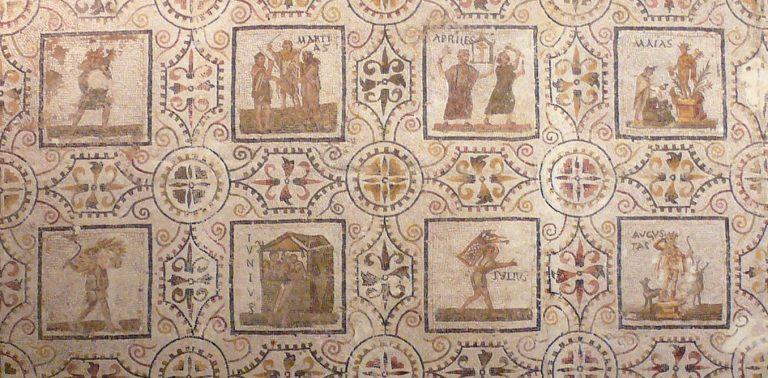 Asal-usul nama-nama bulan dalam kalender masehi