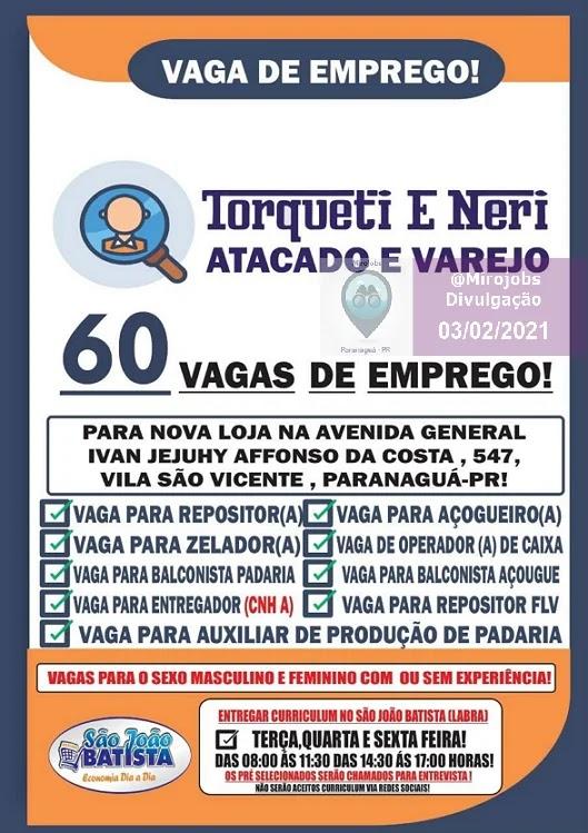 Mirojobs - 60 Vagas de Emprego em Paranaguá