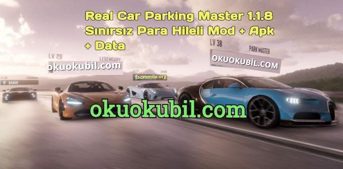 Real Car Parking Master 1.1.8 Sınırsız Para Hileli Mod + Apk + Data İndir