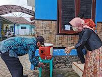 Kampanye Ayo Cuci Tangan dengan Gentong Gotong Royong