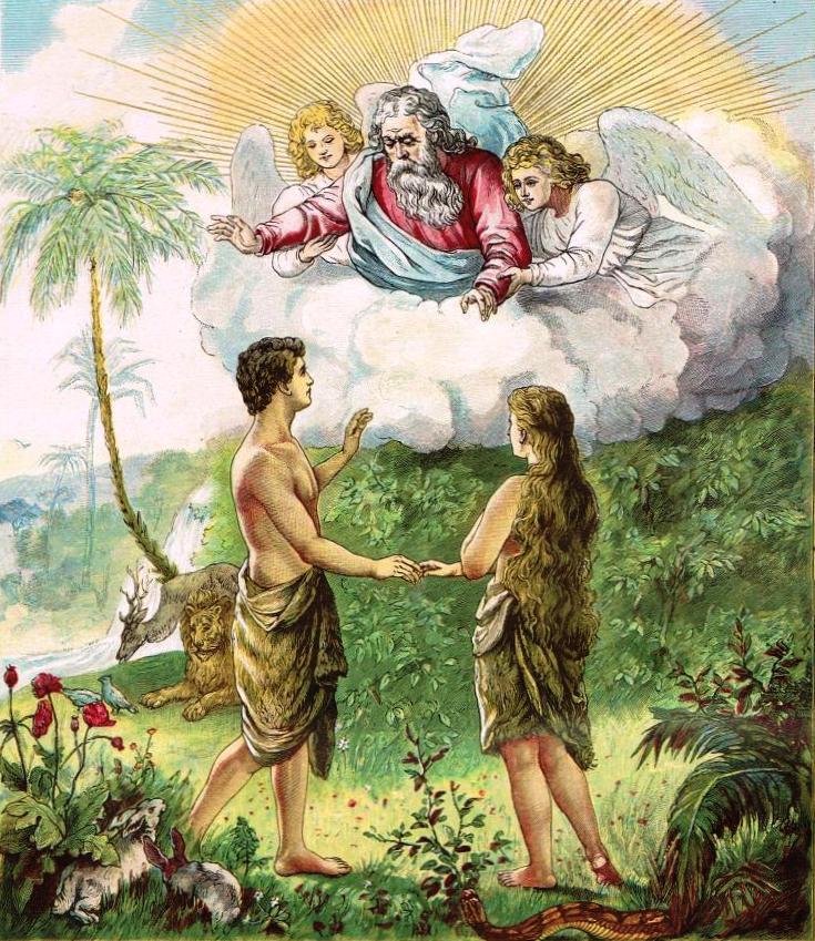 The planned Garden of Eden