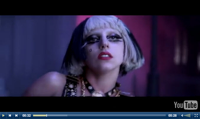 Lady Gaga The Edge of Glory