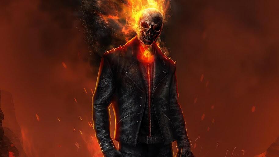 Ghost Rider, Art, 4K, #6.2395