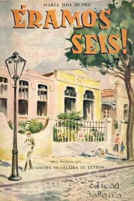 Éramos seis!. Maria José Dupré. Edição Saraiva (São Paulo-SP). 1966-1968 (12ª a 14ª edição). Capa de Nico Rosso. Prefácio de Monteiro Lobato.