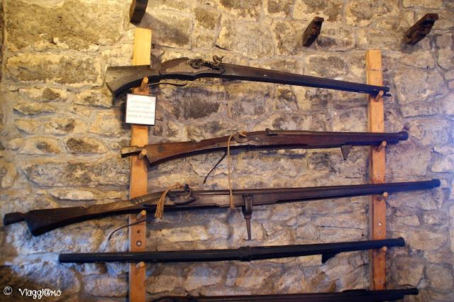 Il Museo delle Armi Antiche di San Marino è ospitato nella Torre Cesta