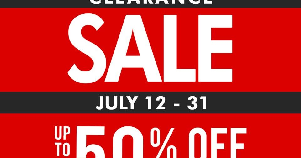 Manila Shopper Metro Stores Clearance Sale July 2019