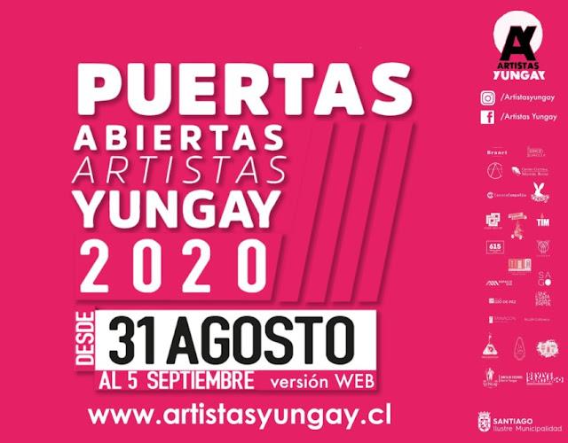 """""""Puertas Abiertas"""": Artistas Yungay invitan a conocer sus obras a través de actividades en formato online"""