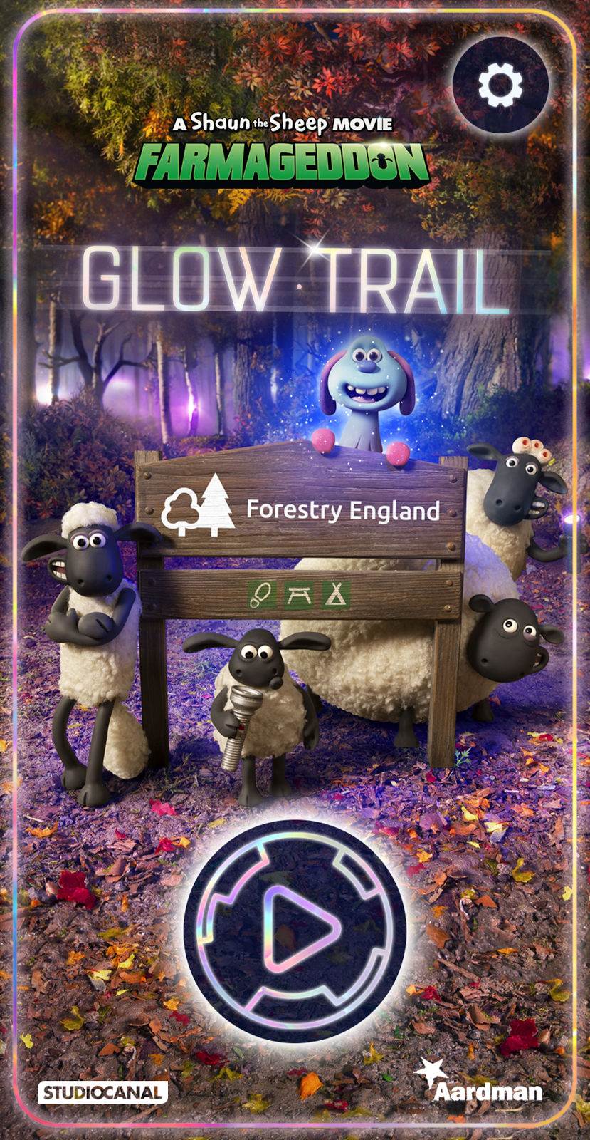 Shaun the Sheep Farmageddon Glow Trail at Hamsterley Forest - Top Tips for Visiting  - Glow Trail App
