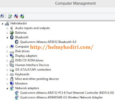 Install ulang driver wifi