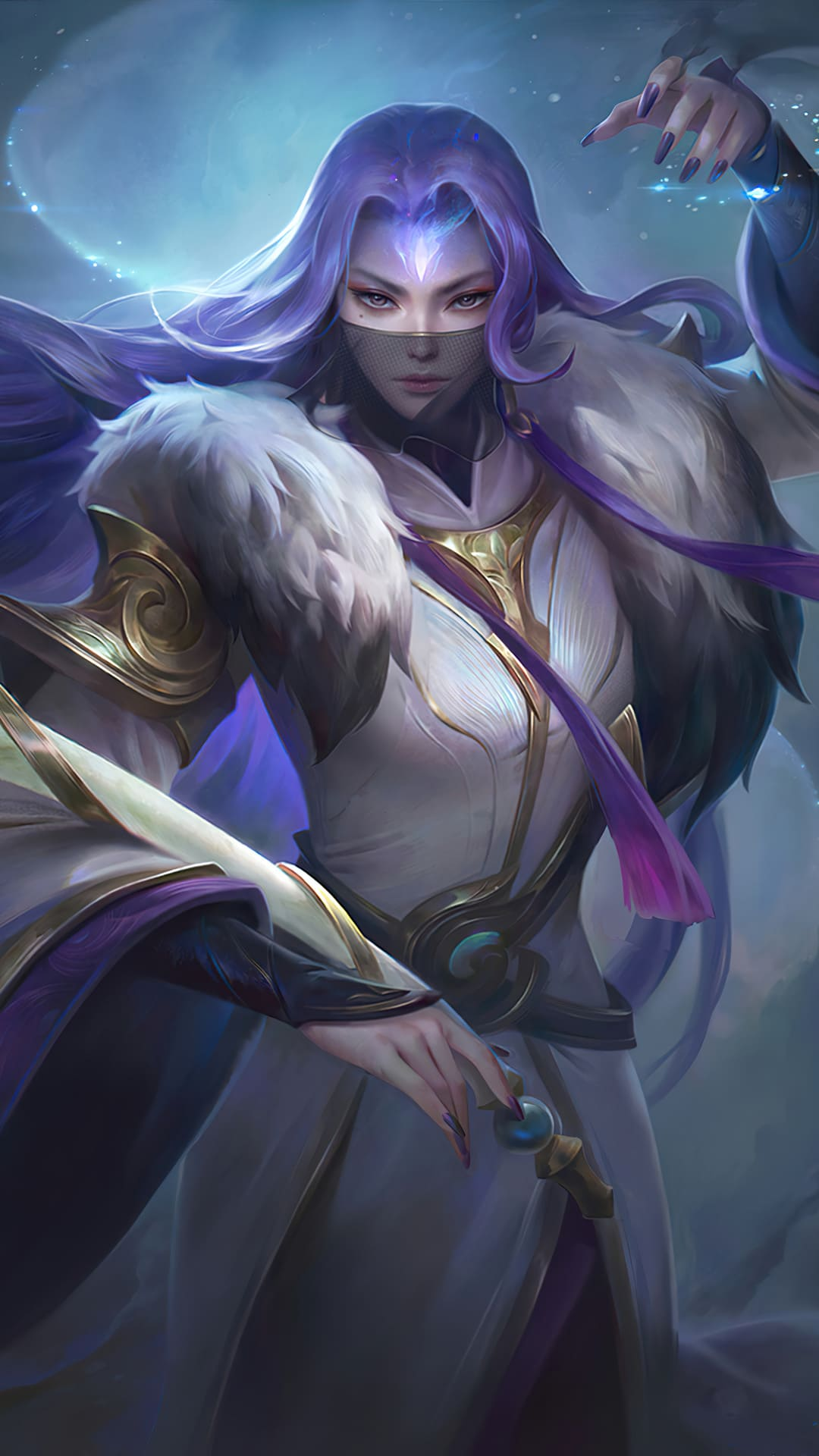 wallpaper luo yi mobile legends hd for mobile hobigame