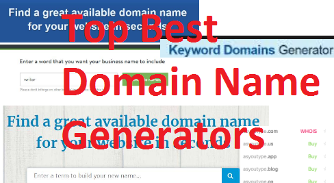 #Top Best Website Domain Name Generators}