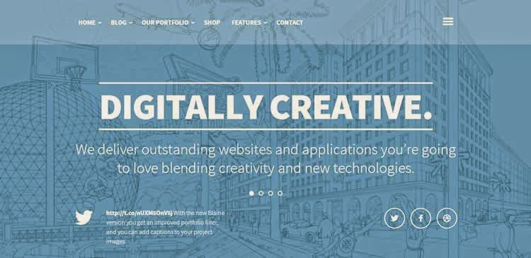 BigFoot - Blogging/portfolio theme