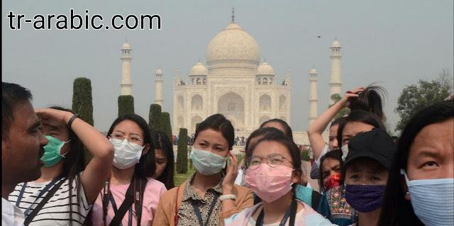 الهند تغلق البلاد إغلاقاً تاماً لمدة 21 يوما ضمن إجاء احترازي لمواجهة فايروس كورونا .