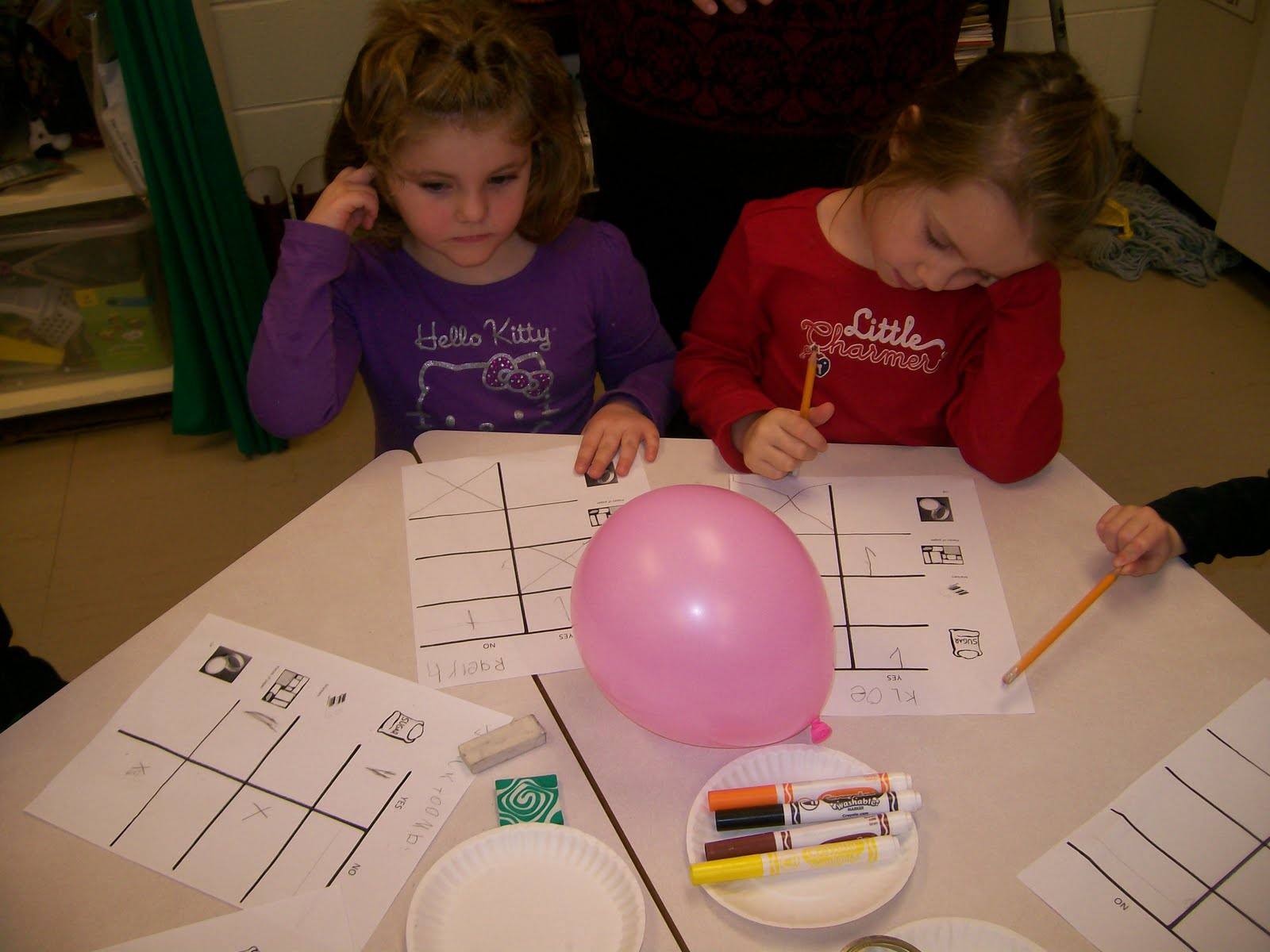 Kindergarten Science Fun Static Electricity