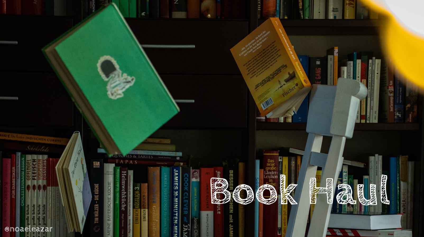 Book Haul - foto por Noa Eleazar