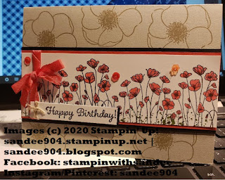 Painted Poppies Stamp Set