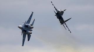 Pesawat Jet Tempur Rusia