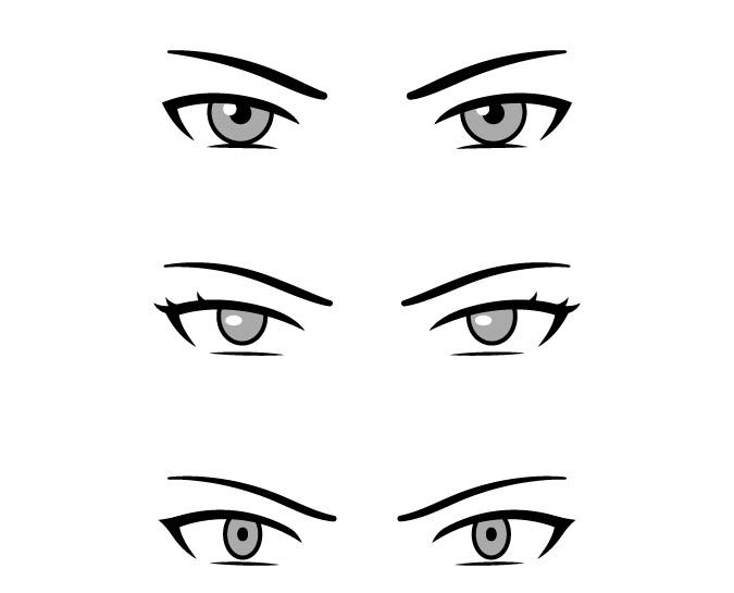 Mata anime penjahat