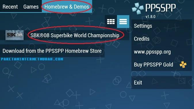 bagaimana cara menggunakan ppsspp di android