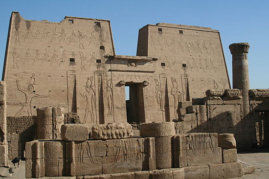 Temple of Horus at Edfu ~ Ancient Egypt Facts