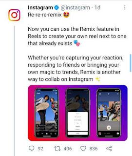 instagram remix कैसे यूज करें