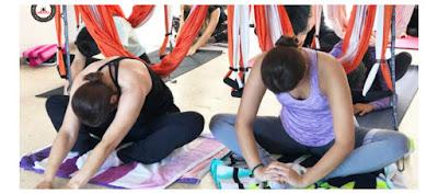formação aerial yoga