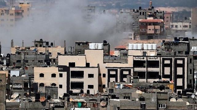 "Kondisi Gaza Pukul 04.00 WIB: Sandi ""Petir Abu-Abu"""