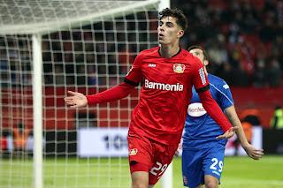 Leverkusen President Carro admits Chelsea target Havertz wants out