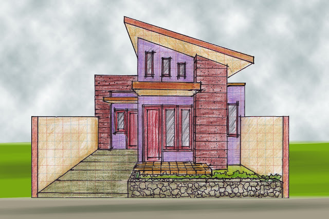 view of house plan A-09