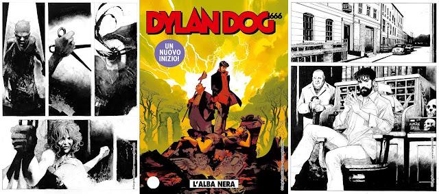 Dylan Dog #401: L'alba nera