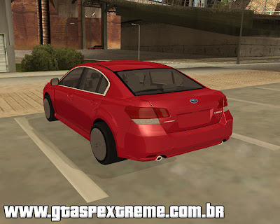 Subaru Legacy 2010 para grand theft auto