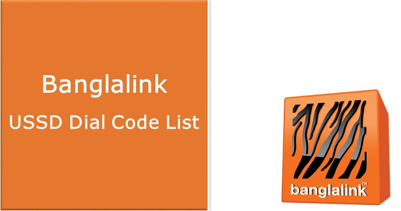 Ussd Dial Code List Of Banglalink