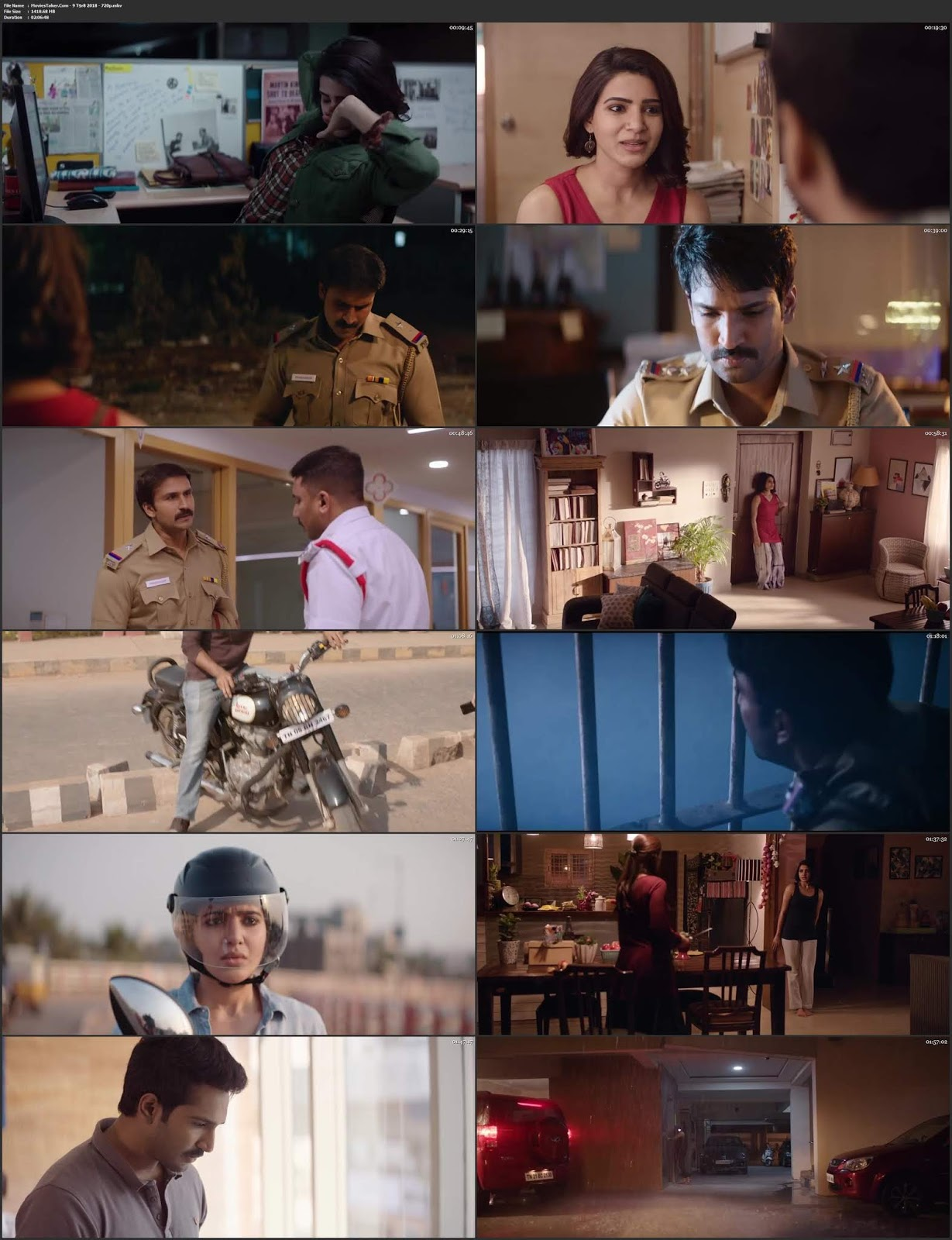 U Turn 2018 Tamil Full Movie HDRip 720p
