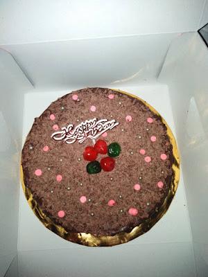 Kek Coklat Moist Suhada