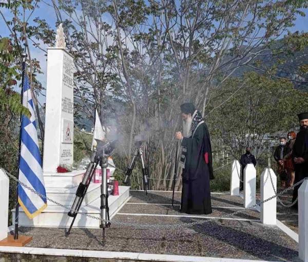 Καμένα Βούρλα : Επιμνημόσυνη δέηση στο Μνημείο των πεσόντων Πυροσβεστών