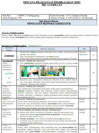 Rpp Ips Kelas 8 Kurikulum 2013 Semester 1 Dan 2 : kelas, kurikulum, semester, Contoh, Kelas, Semester, Genap, Lembar, Didno76.com