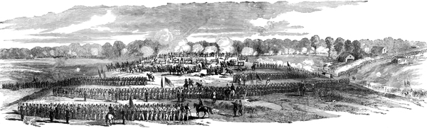 image of the Battle of Gaines' Mill