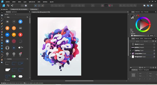 Serif Affinity Designer Full imagenes