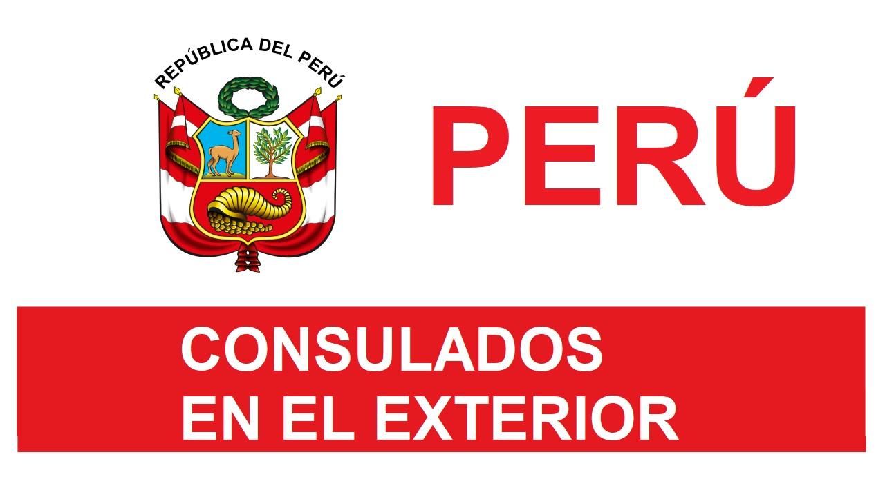 Consulados del Perú en el Exterior