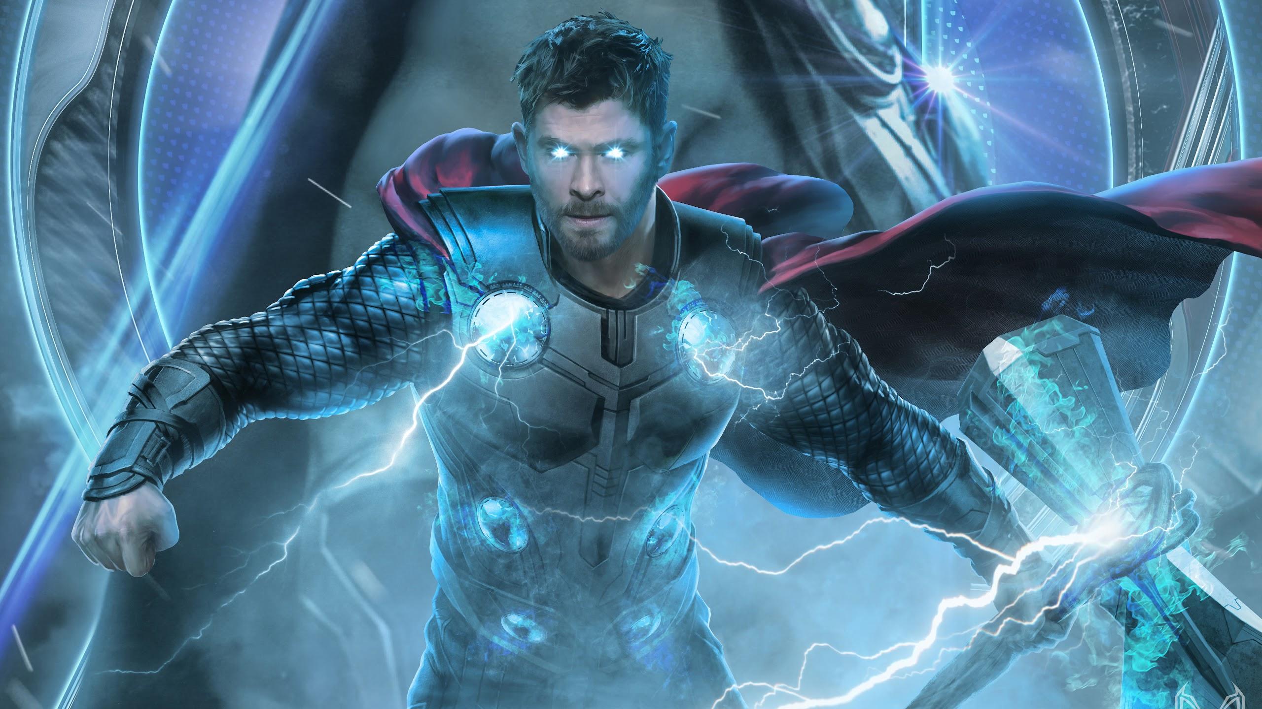 Avengers Endgame Thor 4k Wallpaper 17