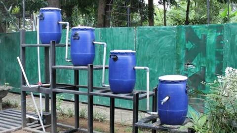 instalasi pengolahan air limbah sederhana (IPAL)