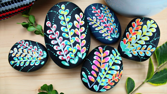 easy painted rocks from Mark Montano